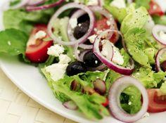 Mixed green salads
