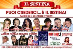 Riflettori su...di Silvia Arosio: Teatro Sistina Roma: ecco la prossima Stagione