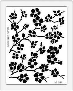 stencil by shmessa by annabelle Kirigami, Stencil Patterns, Stencil Designs, Embroidery Patterns, Stencils, Stencil Diy, Paper Art, Paper Crafts, Diy Crafts