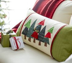 Christmas Pillow Sleeve directions