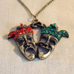 Discount China wholesale Design Retro Fashion Doublehead Pendant Necklace [10083] - US$1.99 : Mygoodsbox