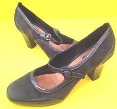 CLARKS Artisan Womens Heels Sz 7.5 M #Clarks #MaryJane #Casual