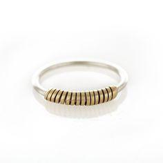 Brass wrap around ring