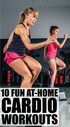 Looking for fat-burning cardio workout videos to add to your weekly exercise routine? Weve got you covered. Weve found 10 free Denise Austin workouts you can do on the daily either at the gym or at home. Whether youre a beginner to fitness or cant fa Denise Austin, Po Trainer, Cardio Training Zu Hause, Cardio Workout At Home, Cardio Workouts, Bodyweight Fitness, Dance Workouts, Workout Exercises, Fat Burning Cardio Workout