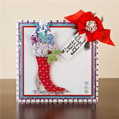 Buy Stamps by Chloe Christmas Boot Stamp Collection from CreateAndCraft.tv