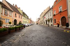 Street in the Castle district #castle #Budapest #Hungary