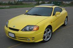 yellow hyundai tiburon yellow hyundai pinterest rh pinterest com 1999 Hyundai Tiburon 2002 Hyundai Tiburon