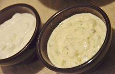 Molhos para Hamburguer: Maionese de Leite e Alho (sem ovos) e Molho Tártaro