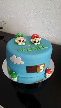 Super Mario Bday cake.
