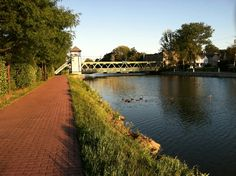 Brockport on the Erie Canal