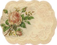 Printable - Shabby Chic placemats?