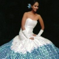 Beautiful Ethiopian wedding dresss
