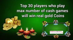 Play Rummy with Diwali Gold Dhamaka Offer to win Gold Coins  https://www.youtube.com/watch?v=oZ80VJVeLlQ&feature=youtu.be