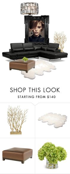 """you"" by katrisha-art ❤ liked on Polyvore featuring interior, interiors, interior design, home, home decor, interior decorating, Givenchy, UGG Australia, Crystorama and New Growth Designs"