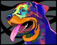 Rott Art by susanshorter on Etsy, $10.00
