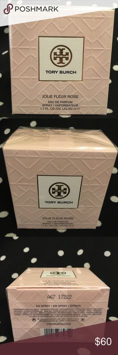 Tory Burch Jolie Fleur Rose, 1.7 fl oz BRAND NEW Brand new, still sealed in box. Tory Burch Jolie Fleur Rose, Eau de Parfum Spray, 1.7 fl oz Tory Burch Other