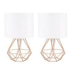Bloomsbury Market Milena 62cm Table Lamp Set & Reviews   Wayfair.co.uk Desk Chair, Desk Lamp, Grey And Cream Rug, Chaos 2, Mirror Set, Table Lamp Sets, Grey Rugs, Lampshades, Bedside