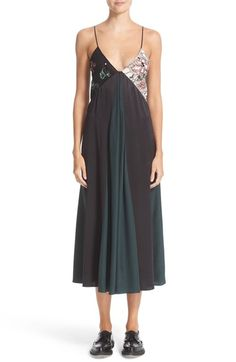 CHRISTOPHER KANE Sequin Camisole Dress. #christopherkane #cloth #
