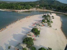 Santarém en Pará in Brasil