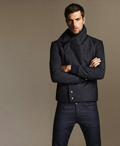 Cool pants. Cool hair. Cool jacket. Cool look http://activelifeessentials.com/mens-fashion/ #fashion #mensfashion