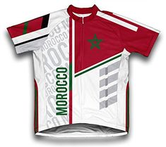 Morocco ScudoPro Short Sleeve Cycling Jersey for Men  Size L *** You can find out more details at the link of the image.Note:It is affiliate link to Amazon.
