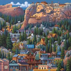 Mt. Rushmore. By Eric Dowdle