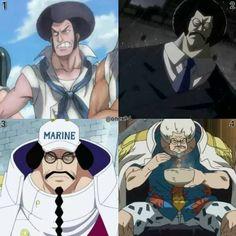 Evolution of sengoku One Piece Manga, Marines, Pirates, Evolution, Otaku, Frozen, Animation, Watches, Board