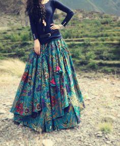 Free Flower Print Long Floor Length Cotton Linen Autumn Skirt For Women Winter Irregular Floral Plus Size Skirts Gypsy Style, Bohemian Style, Boho Chic, Bohemian Skirt, Gypsy Skirt, Bohemian Fashion, Boho Dress, Hippie Boho, Bohemian Fall