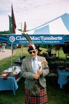 Mac Tavish Info on ElectricScotland - Dugald MacTavish of Dunardry, Chief of Clan MacTavish taken June 2001.