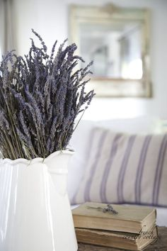 FRENCH COUNTRY COTTAGE: Crushing on~ Fresh Lavender