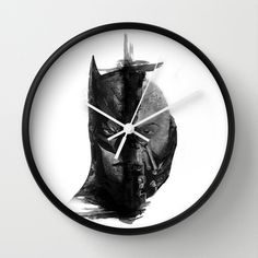 Braking Bat Wall Clock by UvinArt - $30.00