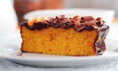 Como fazer um delicioso bolo de abóbora com calda de brigadeiro - superdicaspravoce