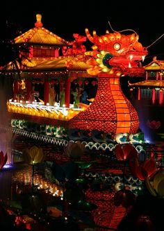 Chinese New Year Party decorations & ideas