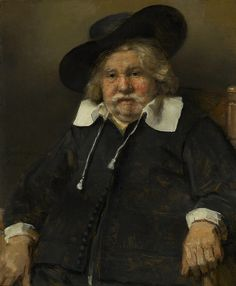 Rembrandt Harmensz. van Rijn, 'Portrait of an Elderly Man,' 1667, The National Gallery, London