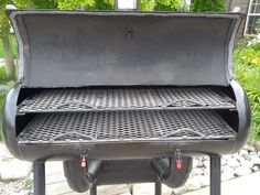 Custom Smokers - You dream it, we build it. - Smokin Hot BBQ - Rental, Wood and Custom Built Smokers Outdoor Barbeque, Barbecue Grill, Custom Smokers, Shop Heater, Bbq Pit Smoker, Homemade Smoker, Smoke Grill, Fire Pit Backyard, Home Projects
