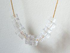 laser cut acrylic beads.