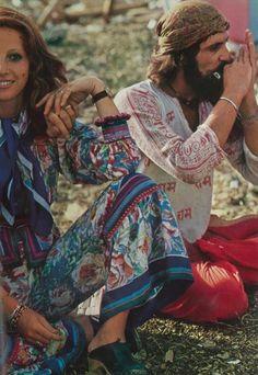 Photograph by Jean Jacques Bugat Festival Scenes Vogue 1970
