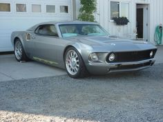 "Custom 1969 Ford ""Mach 40"" Mustang"