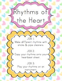 Elementary Music Resources: Center: Rhythms of the Heart