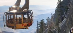 High above the Palm Springs desert,  the air is crisp and the views will take your breath away—and the best way to get up above Chino Canyon into the mountains is the Palm Springs Aerial Tramway.Just slightly more than six miles from the Palm Springs airport, the tramway is an easy day trip f