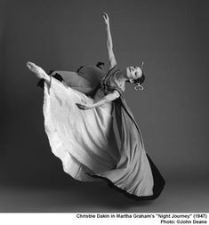 Oh to dance like Martha Graham.