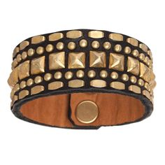 Calleen Cordero Petra Leather Cuff – Favery