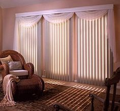 vertical blind curtains | Vertical Blind Curtain | Window treatment, blinds and window shade ...