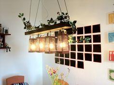 ViolettGerbera: DIY Küchenlampe