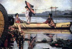 Прогулка в лодке. 1903-1904. Василий Васильевич Верещагин