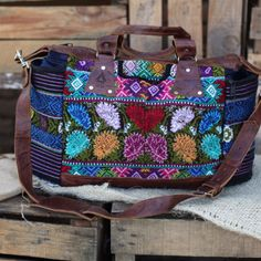 Ixchel Triangle diaper bag. Perfect boho fashion purse.