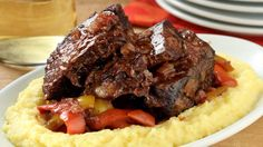 Short ribs Pizzaiola (costolette di manzo alla pizzaiola) showcase what the sauce can do when used to cook meet low and slow. It reduces to a robust and richly hearty base, with a luscious body from the fatty beef.