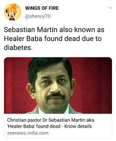 Wings Of Fire, Healer, Diabetes, Religion, Christian, Detail, Pastor, Christians, Religious Education
