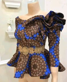 Amazing ankara designs for ladies - DarlingNaija African Lace Dresses, African Fashion Designers, Latest African Fashion Dresses, African Dresses For Women, African Print Fashion, African Attire, African Wear, Ankara Fashion, African Style