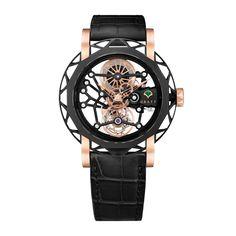 Graff  ~  Structural Tourbillon Skeleton Watch